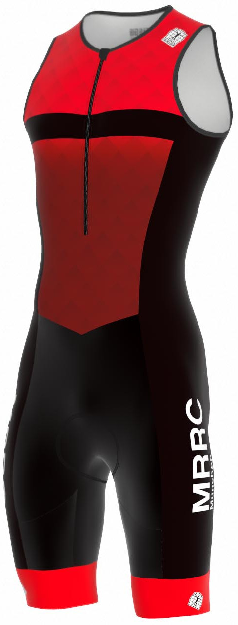 Bioracer 3 Suit Team 2.0 Zipper Back
